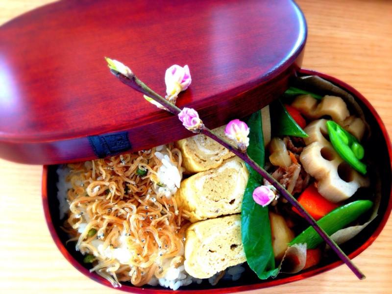 "【BENTO】彩り豊かな筑前煮弁当 Bento du jour ""Chikuzen-ni"""